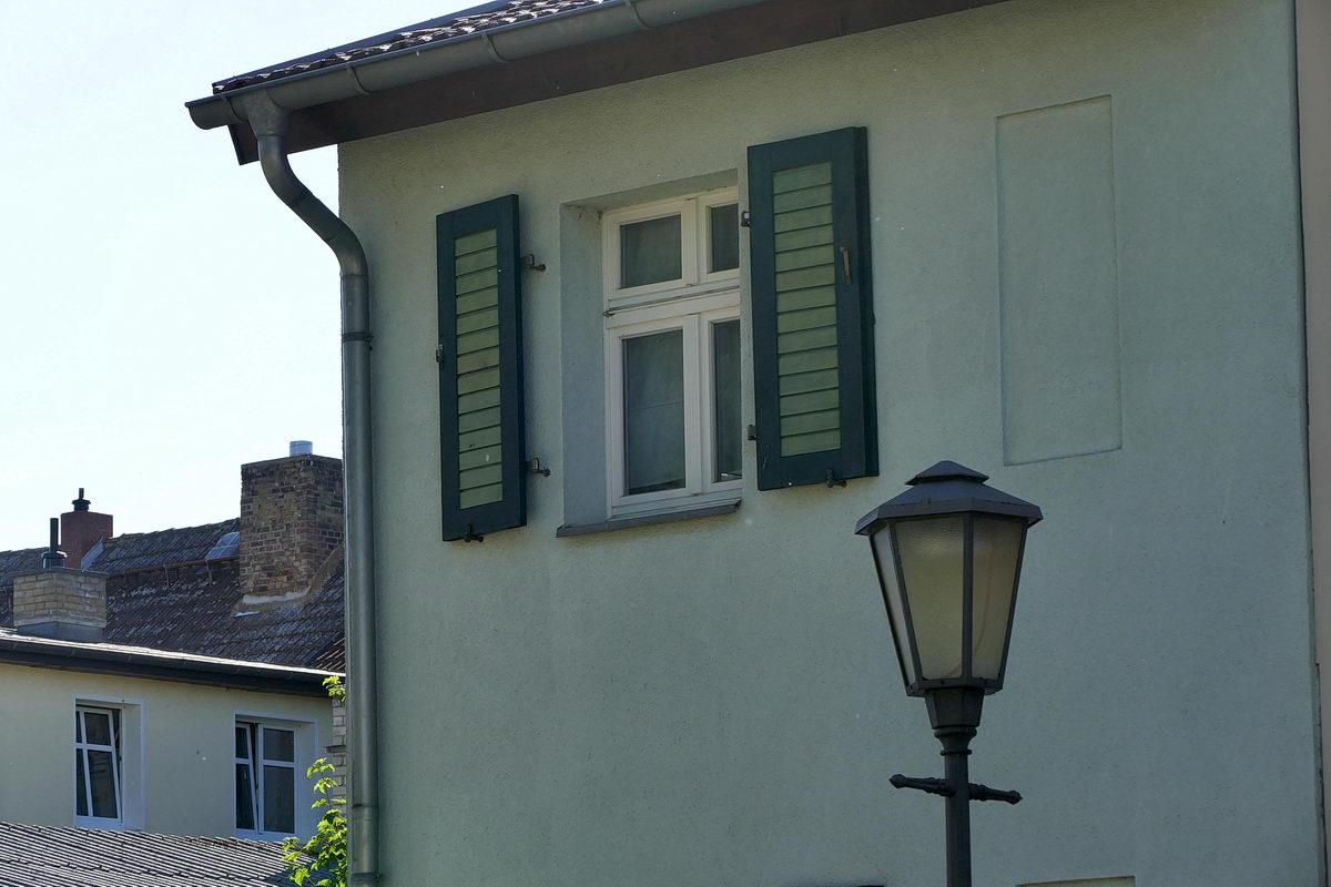 Haus-in-grün