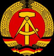 Staatswappen der DDR