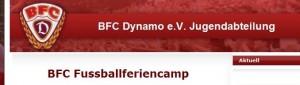 Offizielle Jugendseite des BFC Dynamo e.V.