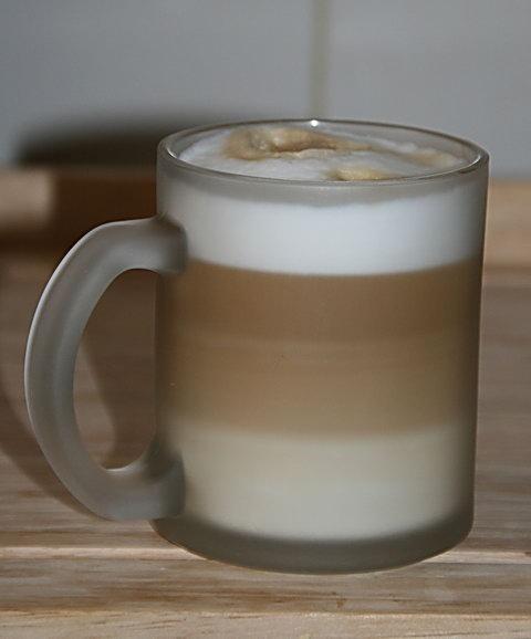 Latte Macchiato - zubereitet mit meiner Petra