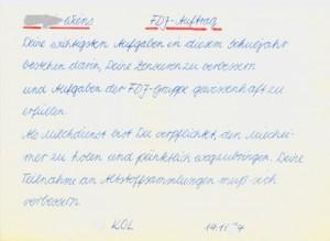FDJ-Auftrag 1984