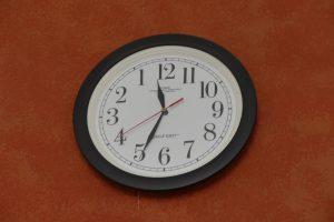 Die verrückte Uhr