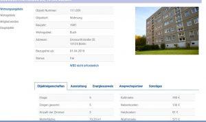 Wohnung - Genossenschaft