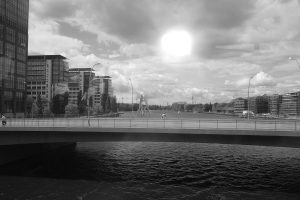 S-Bahn-Blick auf Berlin