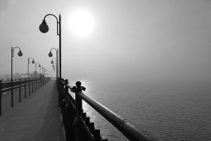 Novembersonne am Meer